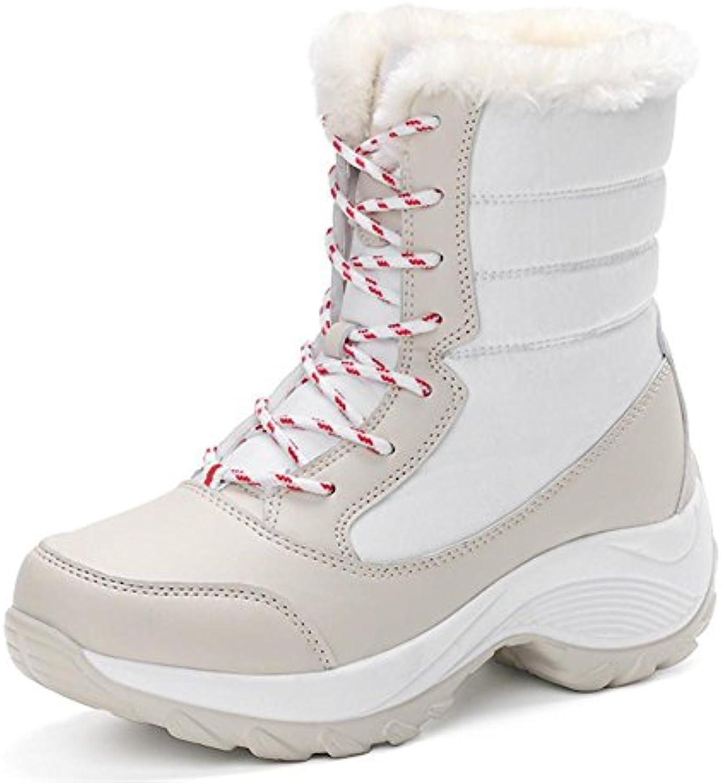 Donna Scarponi da neve il nuovo, Stivali alti di gomma fine slittata indossare impermeabile, Assorbimento degli...   Grande Svendita    Gentiluomo/Signora Scarpa