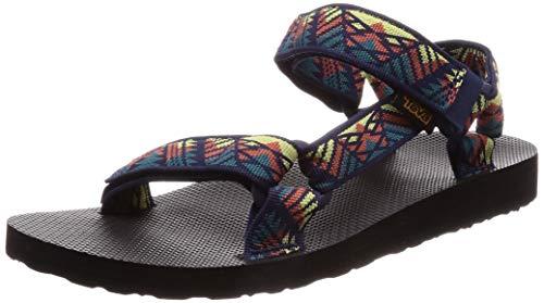 Teva Original Universal M's, Sandali con Cinturino alla Caviglia Uomo, Multicolore (Boomerang 424), 42 EU