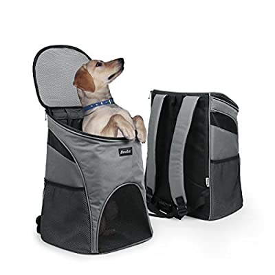 Becko Expandable Foldable Pet Carrier Travel Handbag with Padding and Extension from Becko