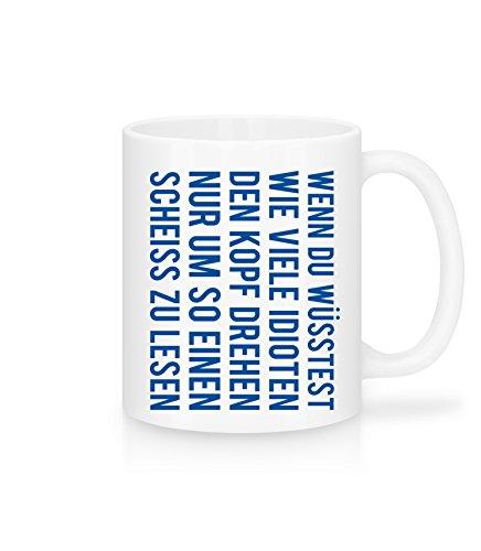 Lustige Kaffee-Tasse | Kopf drehen | Tolle Geschenkidee für Kollegen | Schöne Kaffee-Tasse von...