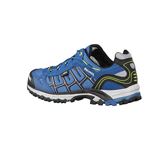 Meindl - scarpe da uomo Cuba GTX 3018 PETROL/LEMON