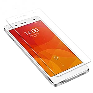 A & H Premium Shatter Proof Tempered Glass Ultra Clear Screen Protector for Xiaomi Mi 4