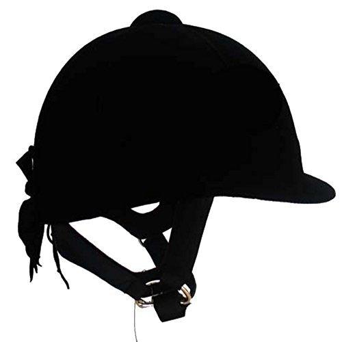 JOLIN Kind Reiten Helme Kopfschutz,Schwarz,53cm