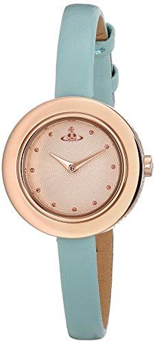 Vivienne Westwood Women's VV097RSTQ Edge Analog Display Swiss Quartz Blue Watch