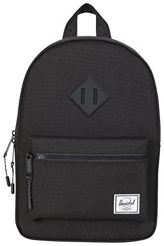 Herschel Novel Duffle, Bag, Tasche, 600D Poly, 00516, Black Crosshatch/Black Black/Black Rubber