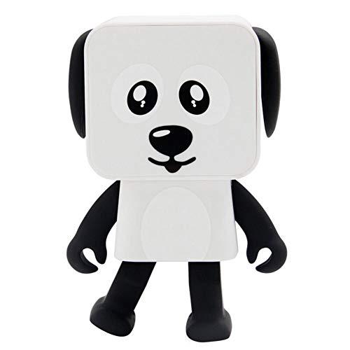 Tanzen Roboter Hund F9 Quadrat Kleines Quadrat Intelligente Unterhaltung Mini-Bluetooth-Lautsprecher Tanzen Roboterhund Klingen