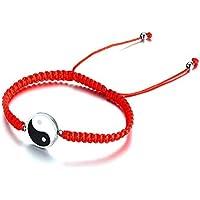 JGDF Pulseras Trenzadas Hechas aManodel cordón de Cadena para Las Mujeres Hombre éxito Retro y protección Lucky Gifts Jewelry