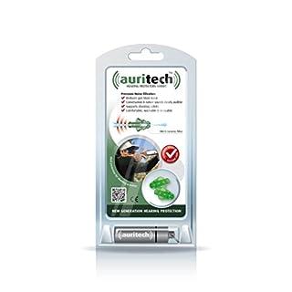Auritech Shoot Earplugs- New Generation Hearing Protectors for shooting