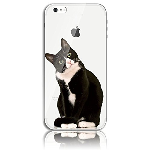Blitz® CHAT motifs housse de protection transparent TPE iPhone Félix Cat M2 iPhone 6 6s Félix Cat M2