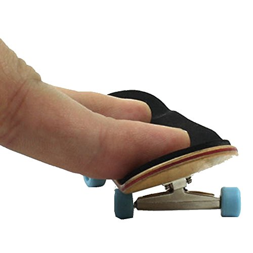 Easybuyeur Complete Basic Wooden Fingerboard - Maple Wood with Bearings Grit Foam Tape