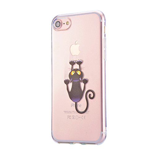 Coque iPhone 6S Plus, Sunroyal iPhone 6 Plus (5.5 pouces) Silicone Coque de Protection Transparente TPU Gel Souple Etui Housse Anti-choc Shock-Absorption Bumper Case Cover Premium Ultra-Mince Motif Im Motif 05