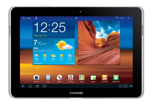 Samsung Mobile Samsung Galaxy Tab 10.1N WiFi P7511 Tablet (25,7 cm (10.1 Zoll) Touchscreen, 16 GB Speicher, Wifi-only, Android Betriebssystem) pure white
