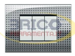 Bticino Livinglight lnc4804ne���ll-placa Air 4�m Net