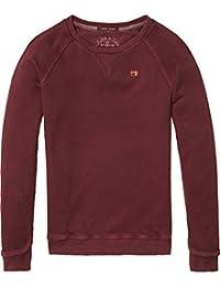 Scotch & Soda Garment Dyed, Sweat-Shirt Garçon