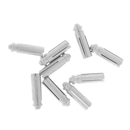 *Sharplace Dart Flight Protektors, 9er / set, Silber*