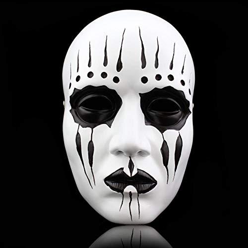 Kostüm Maske Und Koreanische - DWcamellia Masken für Erwachsene Slipknot Maske Halloween Masken Horror Party Maske Maskerade Ball Cosplay Horror Maske Lustige Horror Maske Kostüm Prop Karneval