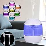 TianranRT Luft Aroma ätherisches Öl Diffusor LED Ultraschall Aroma Aromatherapie Luftbefeuchter