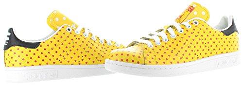 Adidas Stan Smith Spd Leder Turnschuhe Yellow/Red/FtWwht