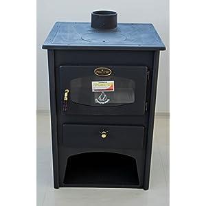 Prometey – Placa de hierro fundido para estufa de leña (8 kW)