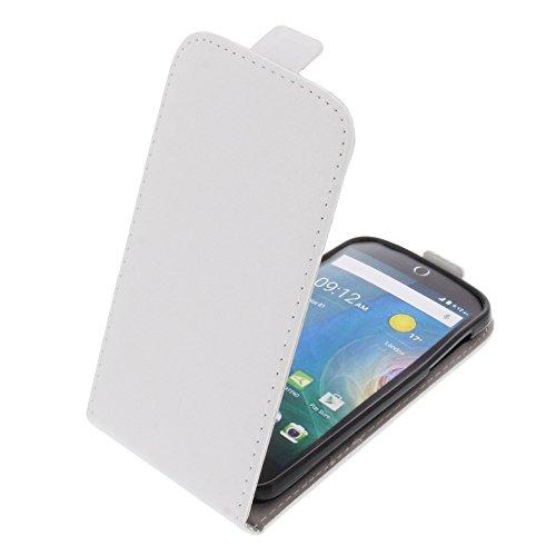 foto-kontor Tasche für Acer Liquid Z330 Liquid M330 Smartphone Flipstyle Schutz Hülle weiß