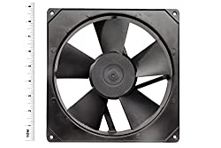 AC Axial Exhaust Blower Cooling Rotary Fan SIZE : 8.70
