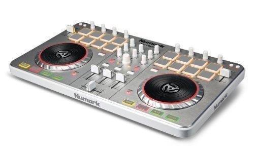numark - mixtrack-ii controlador usb dj mix-track ii virtual dj