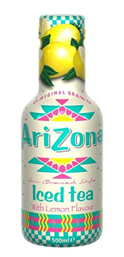 12x 0,5l PET - AriZona - Iced Tea - Lemon - Eistee - Zitrone - incl. Pfand