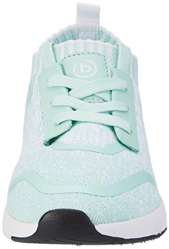 Bugatti Damen DY51616 Sneaker Blau (Türkisblau)