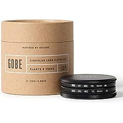Gobe - Kit de filtres pour Objectif 46 mm : UV + Circulaire polarisant (CPL) (2Peak)