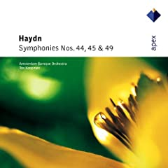 Haydn : Symphony No.45 in F sharp minor, 'Farewell' : IV Finale - Presto
