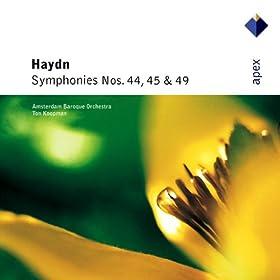 Haydn : Symphony No.45 in F sharp minor, 'Farewell' : IV Finale - Presto