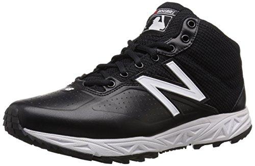 New Balance Men's MU950V2 Umpire Mid Shoe, Black/White, 10 4E US Black/White