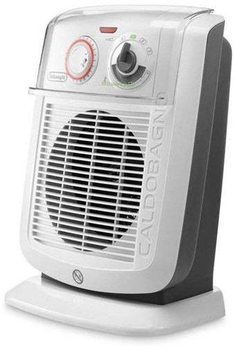 De'Longhi HBC3052T Termoventilatore Caldobagno, 3 Potenze 800/1400/2200 W