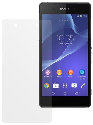 dipos I 2X Schutzfolie matt passend für Sony Xperia Z2 Folie Bildschirmschutzfolie