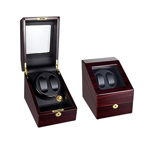 zyy Holz Automatischer Uhrenbeweger, Laufleise Uhrenvitrine, 2+3 Uhrenbox Watch Winder (Color : D) -