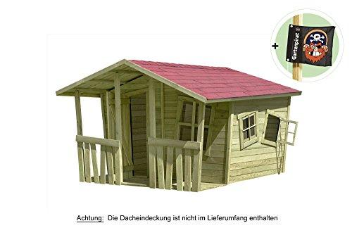 Gartenpirat® Spielhaus Gartenhaus Lisa-Fun Holz