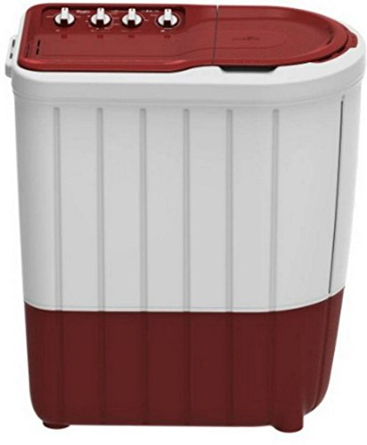 Whirlpool 7 kg Semi-Automatic Top Loading Washing Machine (SUPERB ATOM 7.0, Coral Red, TurboScrub Technology)