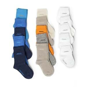 Baby JEEP Socken, einfarbig (5 Paar) (19-22 (1-2-jährige)) (weiß)