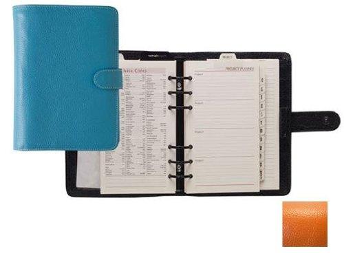 Raika Ro 201 Orange 6 Ring Wallet Agenda - Orange