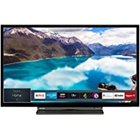 Toshiba 32WL3A63DB 32-Inch HD Ready Smart TV with Freeview Play - Black/Silver (2019 Model)