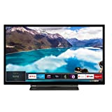 Toshiba 32WL3A63DB 32-Inch HD Ready Smart TV with Freeview Play - Black/Silver