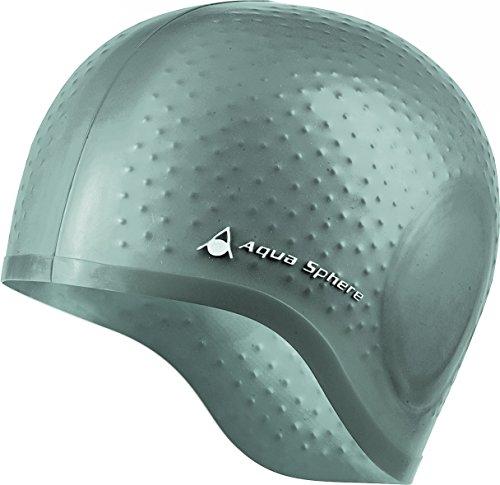 Aqua Sphere Schwimmmütze Aqua Glide, Silber, One Size, 20919S