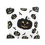 VEMOW Happy Halloween Kissen Heißer Verkauf Dekoration Fashion Type Cases Polyester Kissenbezug Wohnkultur (43cmX43cm/16.9X16.9)(Mehrfarbig B, 43cmX43cm/16.9X16.9)