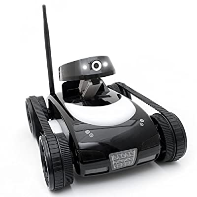 RC WiFi iSpy Tank Drone with Wireless Remote Control Via iPhone/iPad/Android Smartphone/Tablet