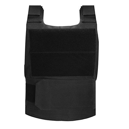 Pellor Erwachsene Taktische Weste Leicht Atmungsaktiv Field Combat Training Weste(Schwarz, Größe für Person bei 1.5-1.9m Höhe) (Halten Sie Es Sauber Für Erwachsenen Kostüm)