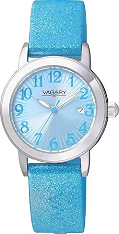Watch Vagary Girl 86th VE0-515-70 Blue Glitter