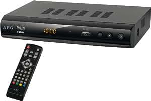 AEG DVB-S2/HD 4546 Décodeur Satellite HD HDMI Port USB