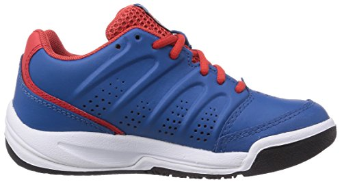 K-Swiss Performance KS TFW ULTRASCENDOR OMNI Unisex-Kinder Tennisschuhe Blau (MYKBLUE/FIERYRED)