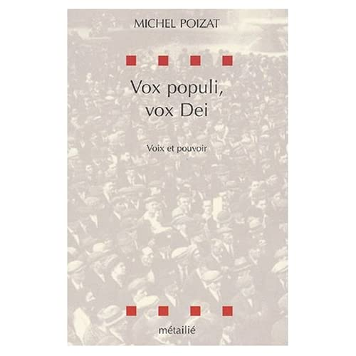 Vox populi, vox dei