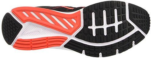 Nike Herren Dart 12 Laufschuhe Schwarz (Black/hyper Orange/max Orange/white)